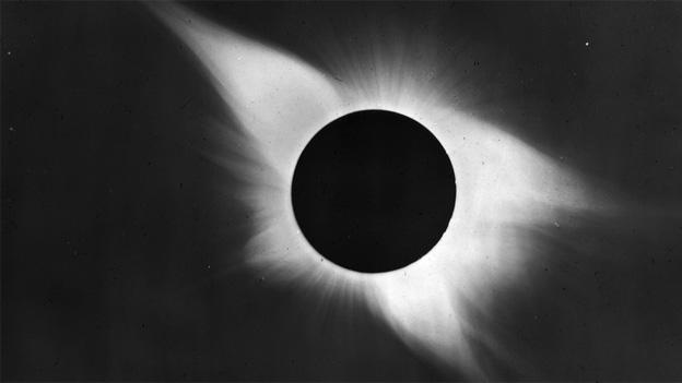 Max Waldmeier berichtet 1952 von der totalen Sonnenfinsternis