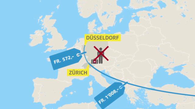 Umwelt und Verkehr - Wie Swiss Schweizer Fluggäste schröpft ...