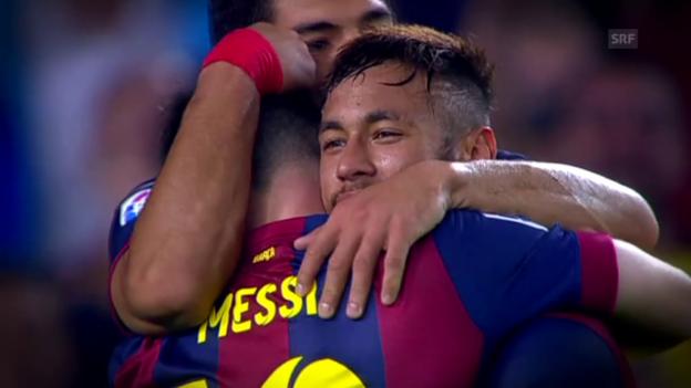 Video «Fussball: Primera Division, Barcelona» abspielen