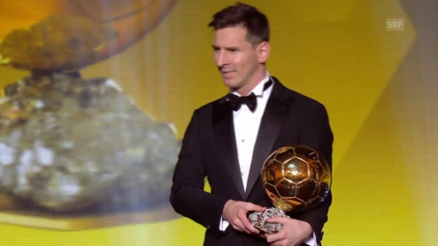 Video «Die Highlights des Fifa Ballon d'Or» abspielen