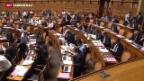 Video «Parlament berät Gegenvorschlag zur Initiative «Grüne Wirtschaft»» abspielen