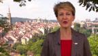 Video «Bundespräsidentin Simonetta Sommaruga spricht zum 1.8.2015» abspielen