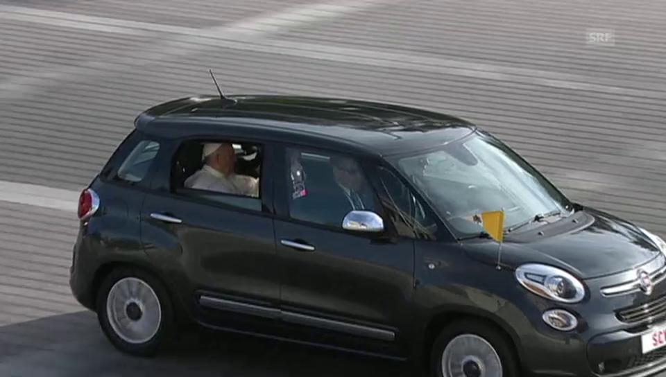 Die Ankunft des Papstes vor dem Capitol (unkommentiert)
