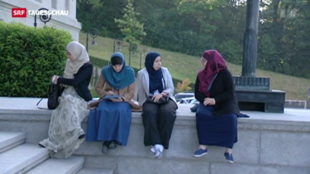 Video «Höchstrichterliche Absage an Kopftuchverbot» abspielen