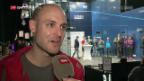 Video «Squash: Mit Nicolas Müller beim GC-Cup» abspielen