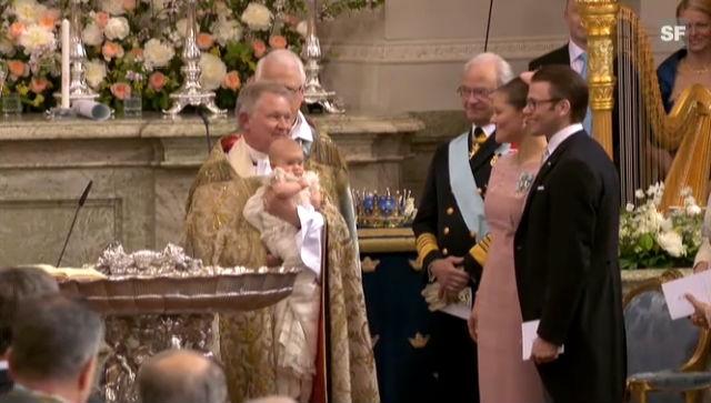 Taufe von Prinzessin Estelle in Stockholm (unkomm.)