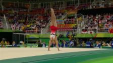 Video «16,133 Punkte: Japaner Shirai zaubert am Boden» abspielen