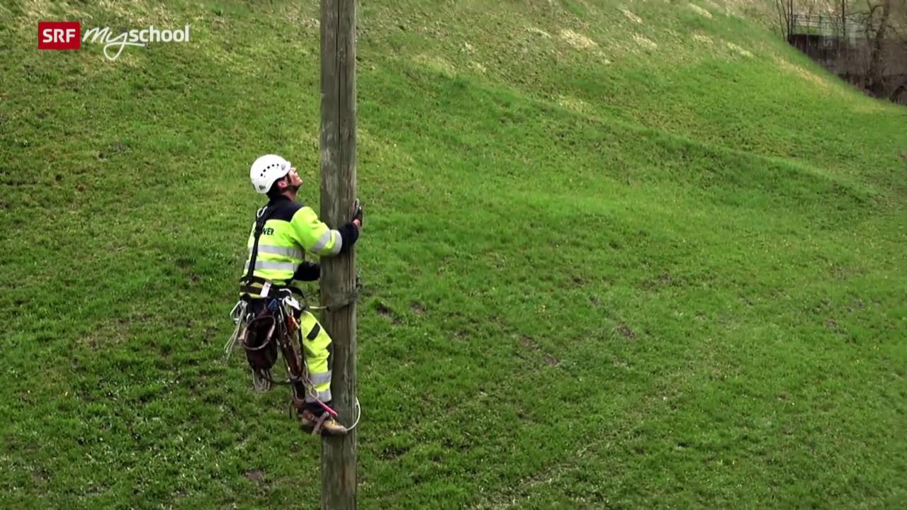 Berufsbild: Netzelektriker EFZ