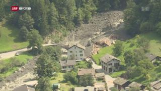Video «Bergsturz in Bondo – acht Vermisste» abspielen