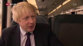 Video «Boris Johnson wird neuer britischer Aussenminister» abspielen