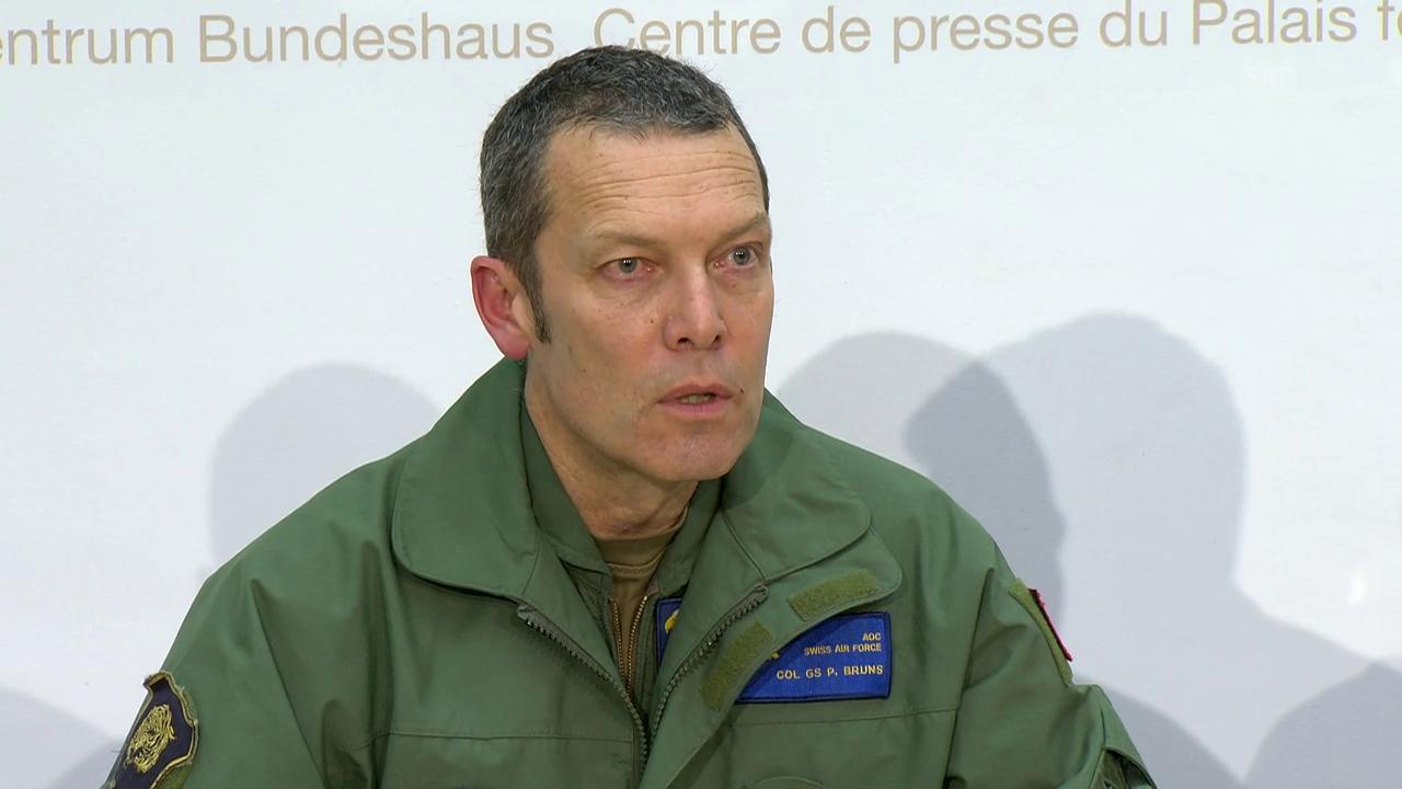 Bruns: «Milizpiloten sind sehr erfahren.»