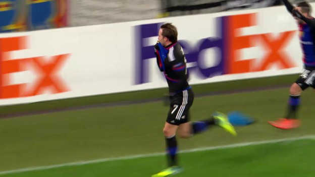 Video «Basel - St-Etienne: Die Live-Highlights» abspielen