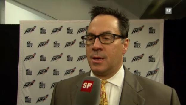 Video «Abbotsfrod-Coach Troy Ward über Bärtschis Chancen in der NHL.» abspielen