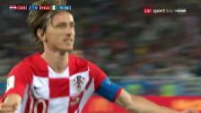 Link öffnet eine Lightbox. Video Sicherer Startsieg für Kroatien abspielen