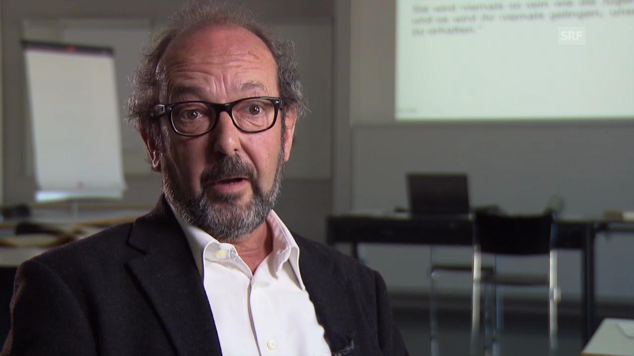 Linguist Peter Sieber über die Veränderung der deutschen Sprache bei jungen Erwachsenen