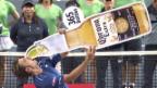 Video «Tennis: ATP Tokio, Final Wawrinka-Paire, gute Laune bei Wawrinka» abspielen