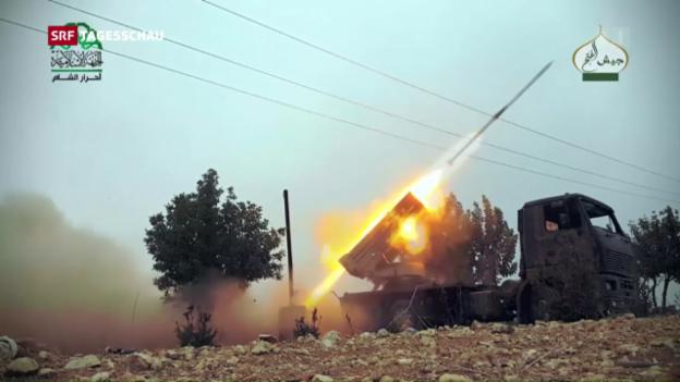Video «Rebellen-Attacke in Aleppo» abspielen
