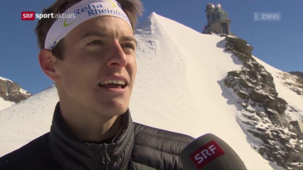 Video «OL: Showanlass als Hauptprobe für Weltcupfinal» abspielen