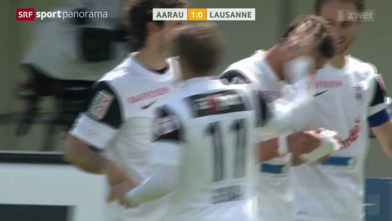 Fussball: Aarau - Lausanne