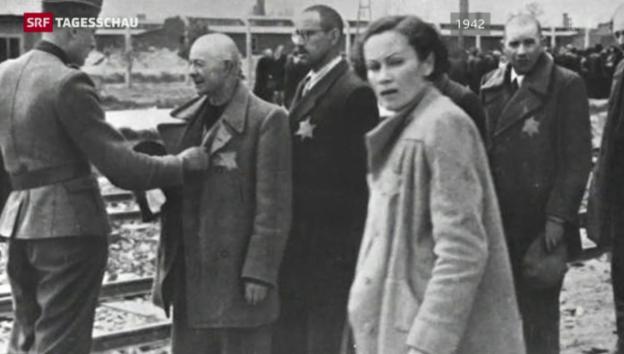 Video «Der Buchhalter von Auschwitz vor Gericht» abspielen