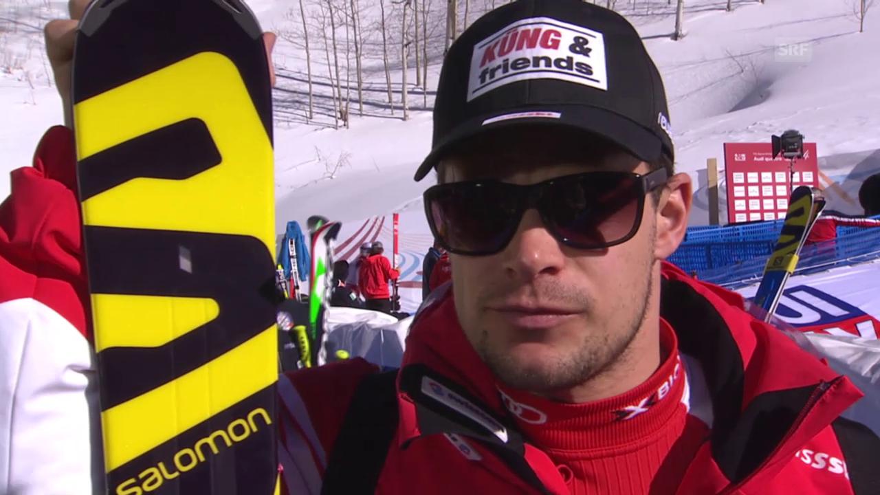 Ski alpin: WM 2015 in Vail/Beaver Creek, Abfahrtsvorschau mit Patrick Küng