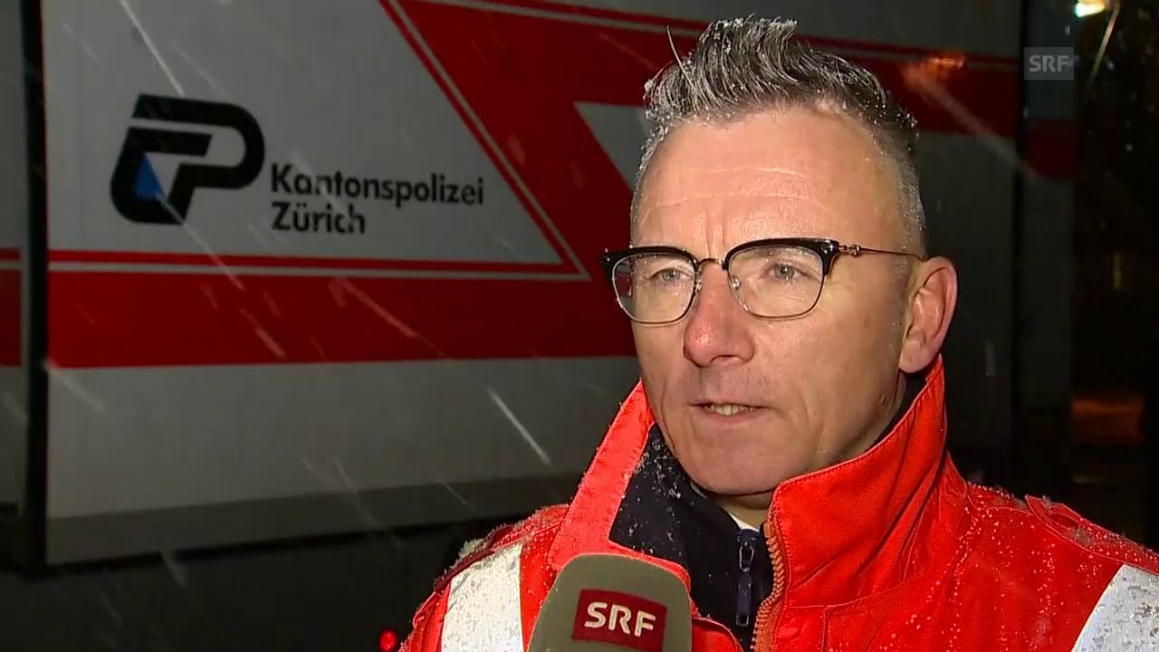 Polizeisprecher Beat Jost zu dem Vorfall