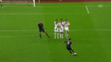Link öffnet eine Lightbox. Video Ronaldos Freistosstore gegen den unglücklichen Leoni abspielen