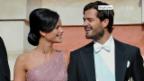 Video «Schwedische Royals feiern Musikfestival» abspielen