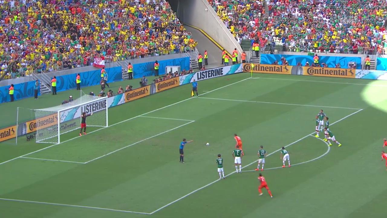 Spielbericht Niederlande - Mexiko