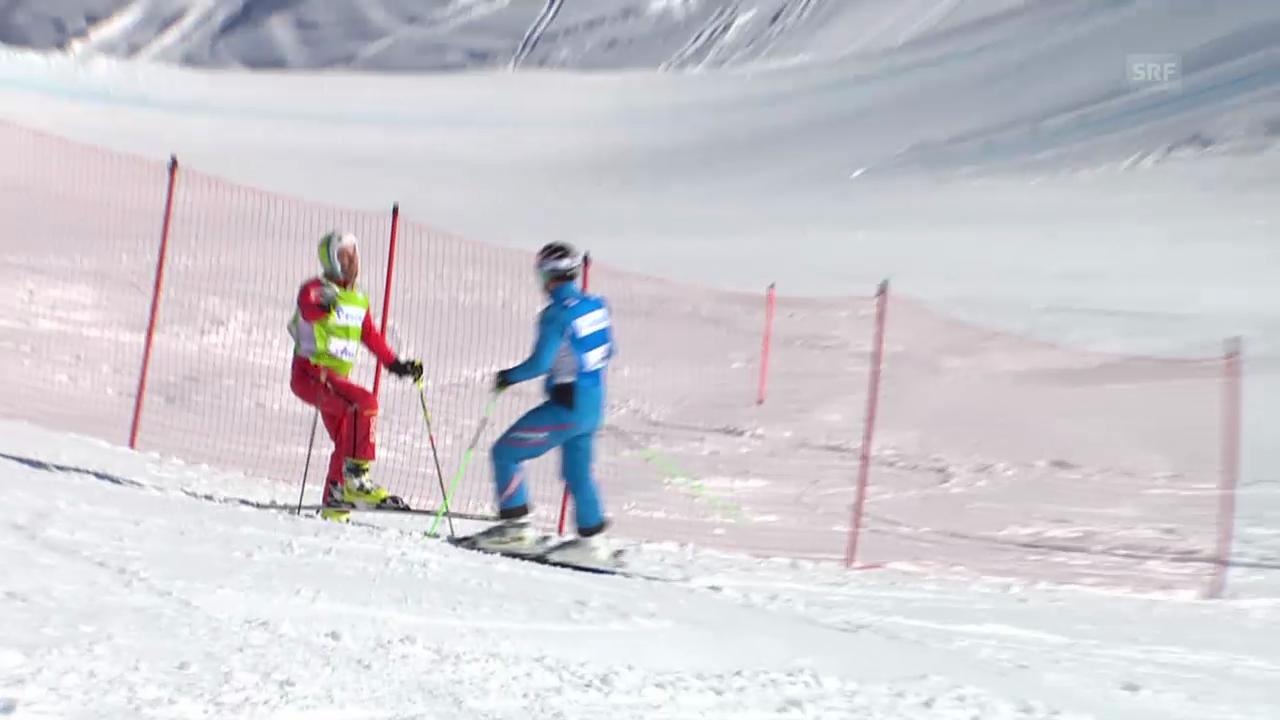 Skicross: Stockschlag gegen Patrick Gasser