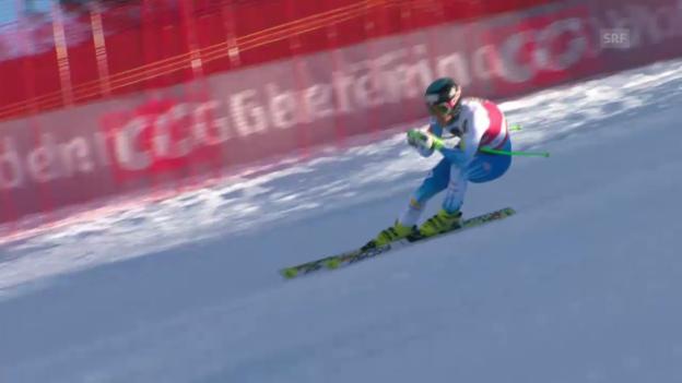 Video «Ski Alpin: Fahrt von Steven Nyman» abspielen