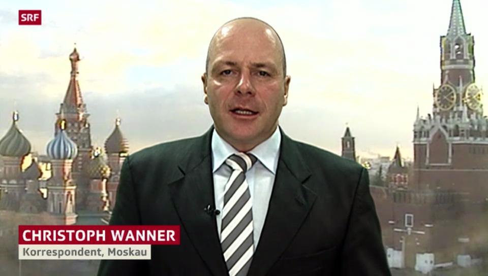 SRF-Korrespondent Christoph Wanner zu den Anschlägen in Wolgograd