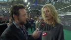 Video «Nik Hartmann und Maria Furtwängler: Fussmassage für Wandervogel» abspielen