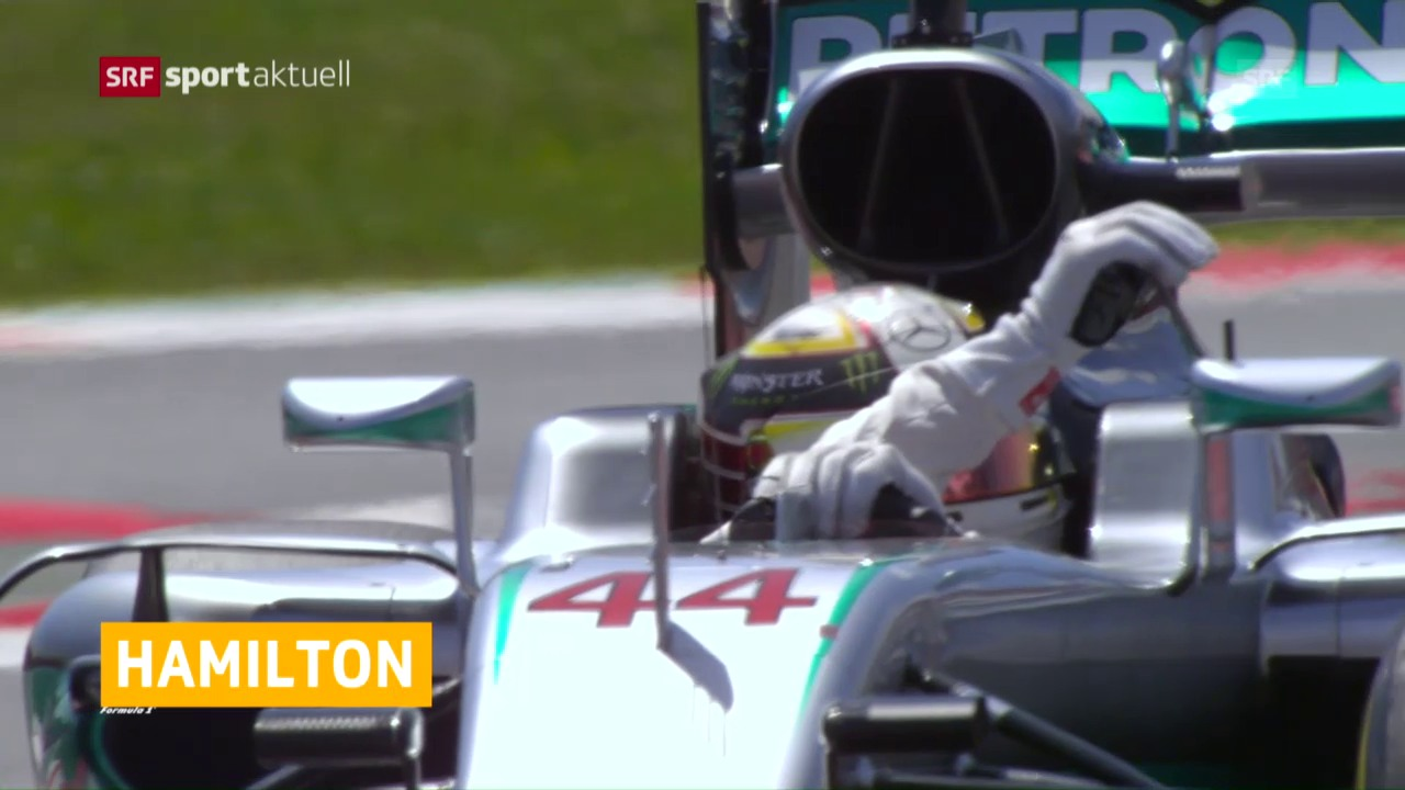 Hamilton holt in Spanien die Pole