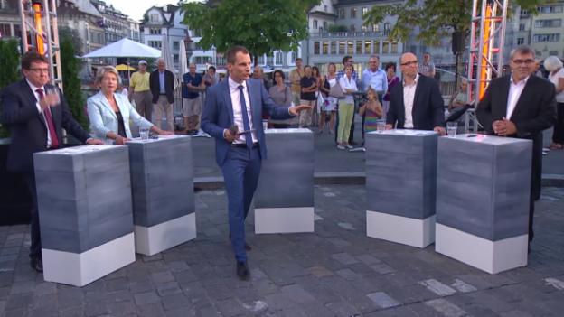 Video ««Wahl-Arena»: Woher soll der Strom der Zukunft kommen?» abspielen