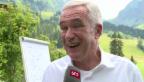 Video «Neue Aufgabe für Hanspeter Latour» abspielen