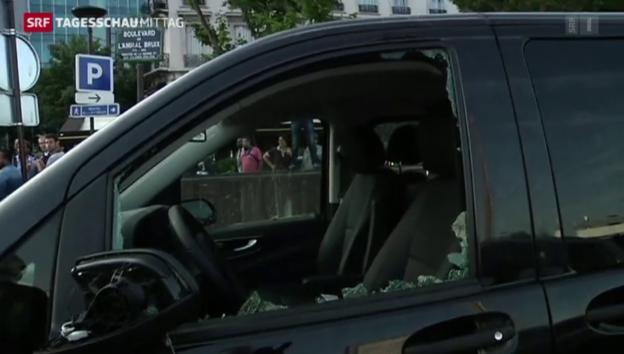 Video «Uber fährt in Frankreich zurzeit nicht mehr» abspielen