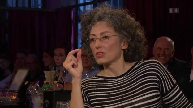 Video «Das Ministerium des äussersten Glücks: Literaturclub im September» abspielen