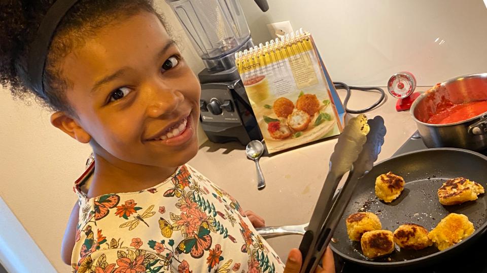 «Jetzt koche ich!» - Arancini-Bällchen mit Tomatensauce