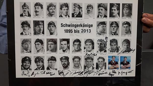 So kam Peter Flück zu den Schwingerkönig-Autogrammen