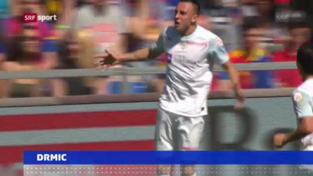 Video «Drmic vom FCZ nach Nürnberg» abspielen