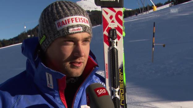 Video «Ski: Manuel Pleisch im Interview» abspielen