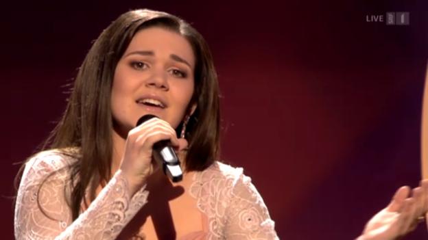 Video «Russland - Dina Garipova mit «What If»» abspielen