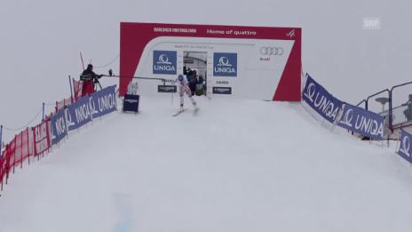 Video «Ski: Fahrt Mayer Abfahrt Saalbach» abspielen