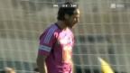 Video «Cup: Delémont - Luzern» abspielen