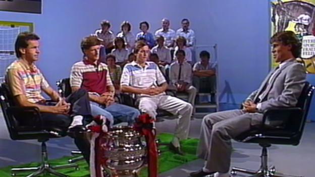 Video «1985: Ottmar Hitzfeld zu Gast im «sportpanorama»» abspielen