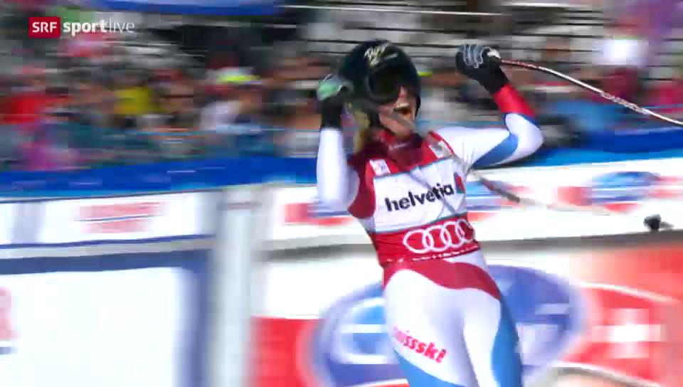 Ski: Zusammenfassung Super-G Frauen Lenzerheide («sportlive», 13.3.14)