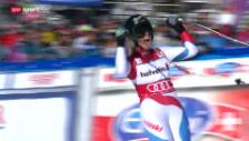 Video «Ski: Zusammenfassung Super-G Frauen Lenzerheide («sportlive», 13.3.14)» abspielen