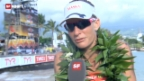 Video «Triathlon: Interview mit Caroline Steffen» abspielen