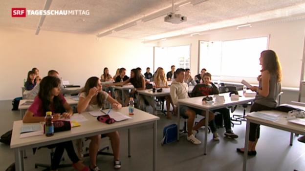 Video «Umfrage zur Jugend auf dem Arbeitsmarkt» abspielen